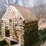 Part Three of… Building a rustic cabin