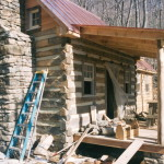 Part Two of… Building a rustic cabin