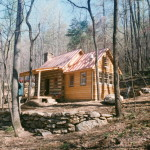 Part Four of… Building a rustic cabin