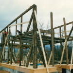 Building a timber frame in three steps