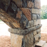 Stonework is a labor-intensive form of art
