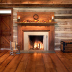 A log cabin without a fireplace is like a canoe without a paddle