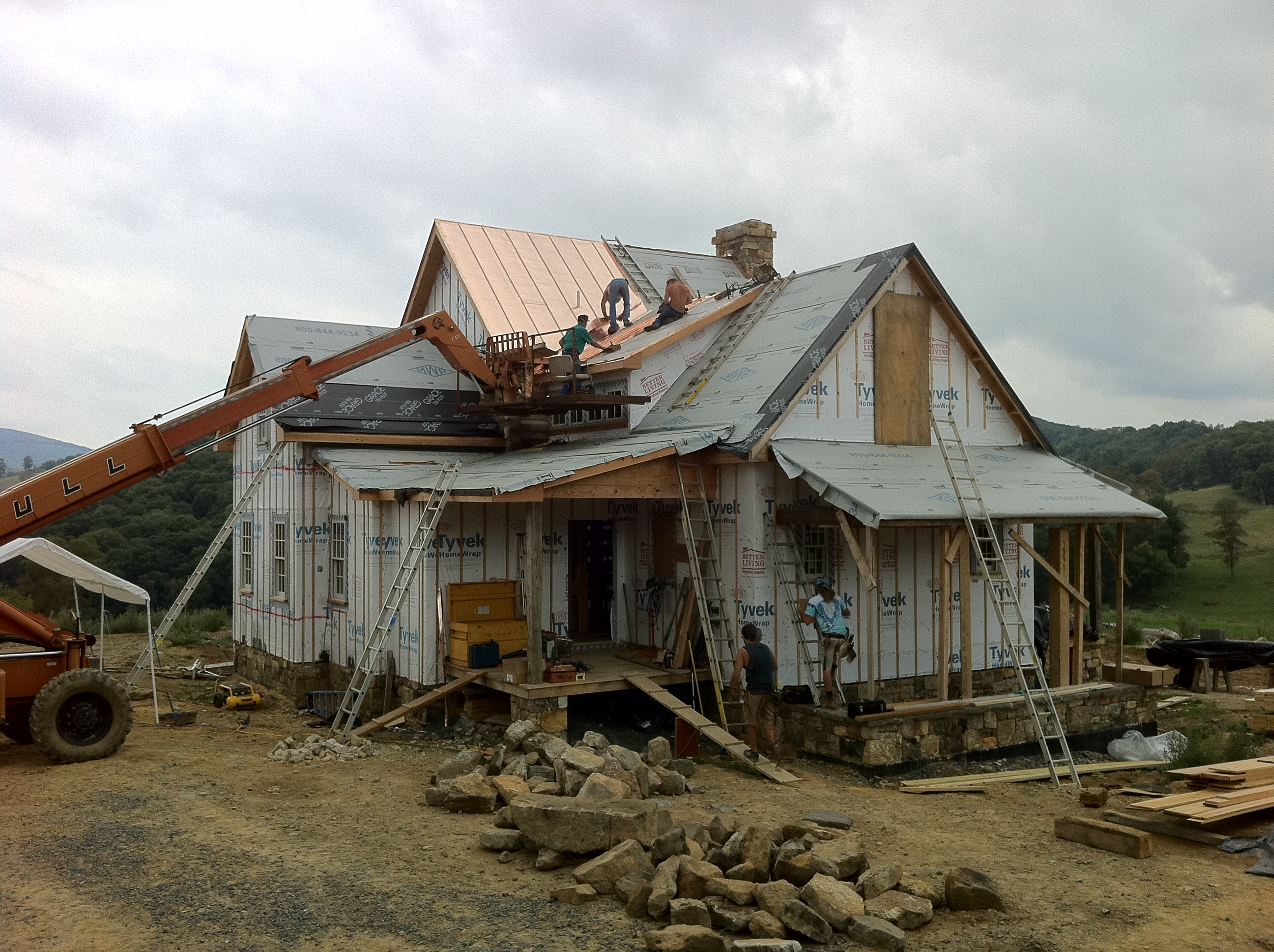The ugly phase of building a house handmade houses for Phases of building a house