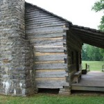 Davy Crockett knew log cabins