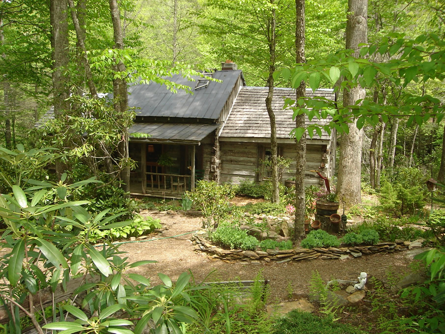 How would living in a log cabin change you handmade for Secluded mountain homes for sale