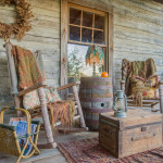 Log cabin porches… to decorate, or not