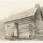 Women and log cabins