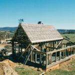 On building a barn or garage first