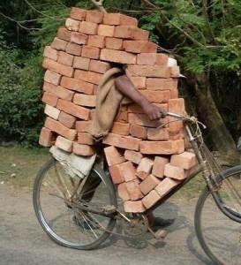 brickmoving bike