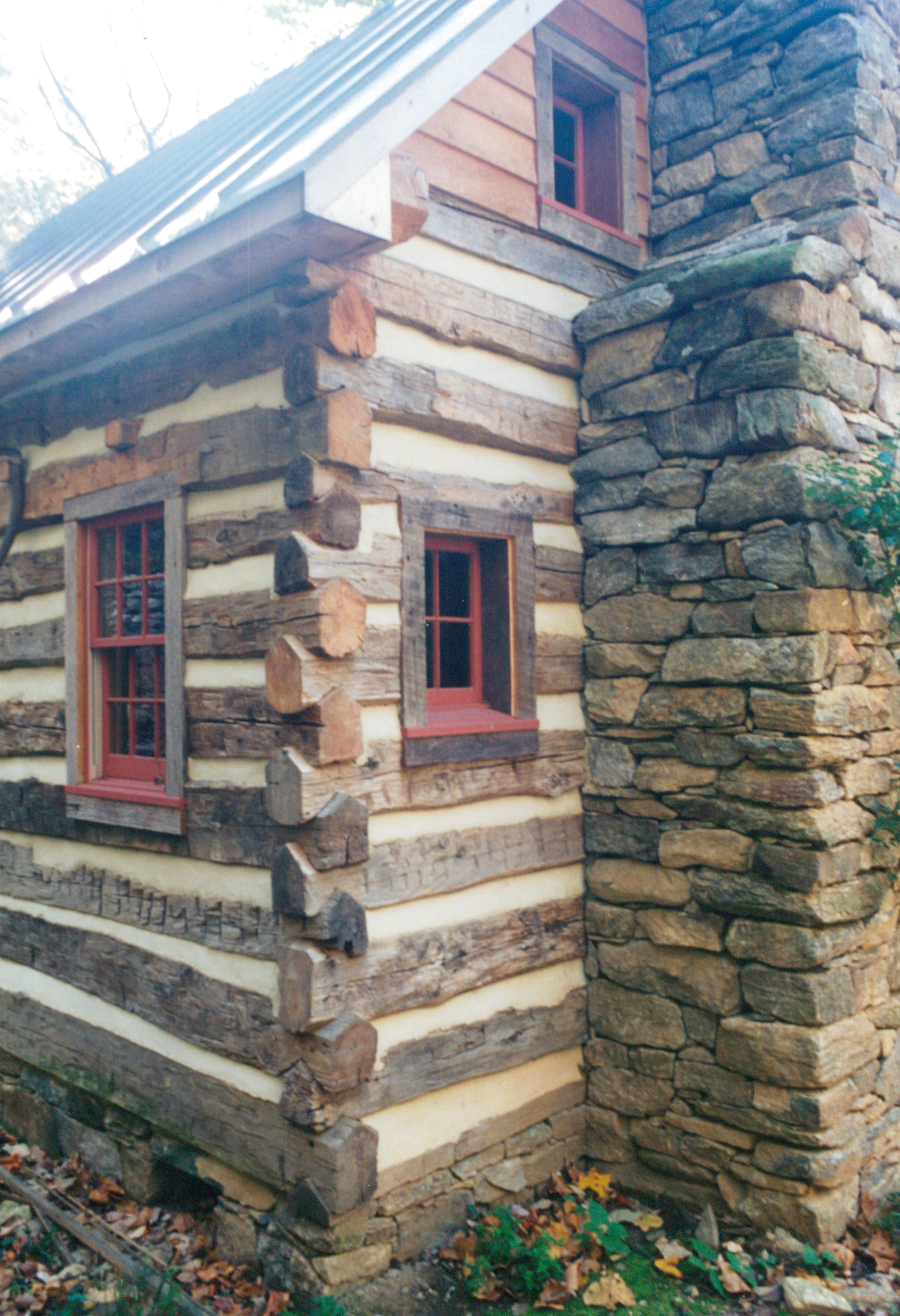 Part six of building a rustic cabin handmade houses for Building a rustic cabin