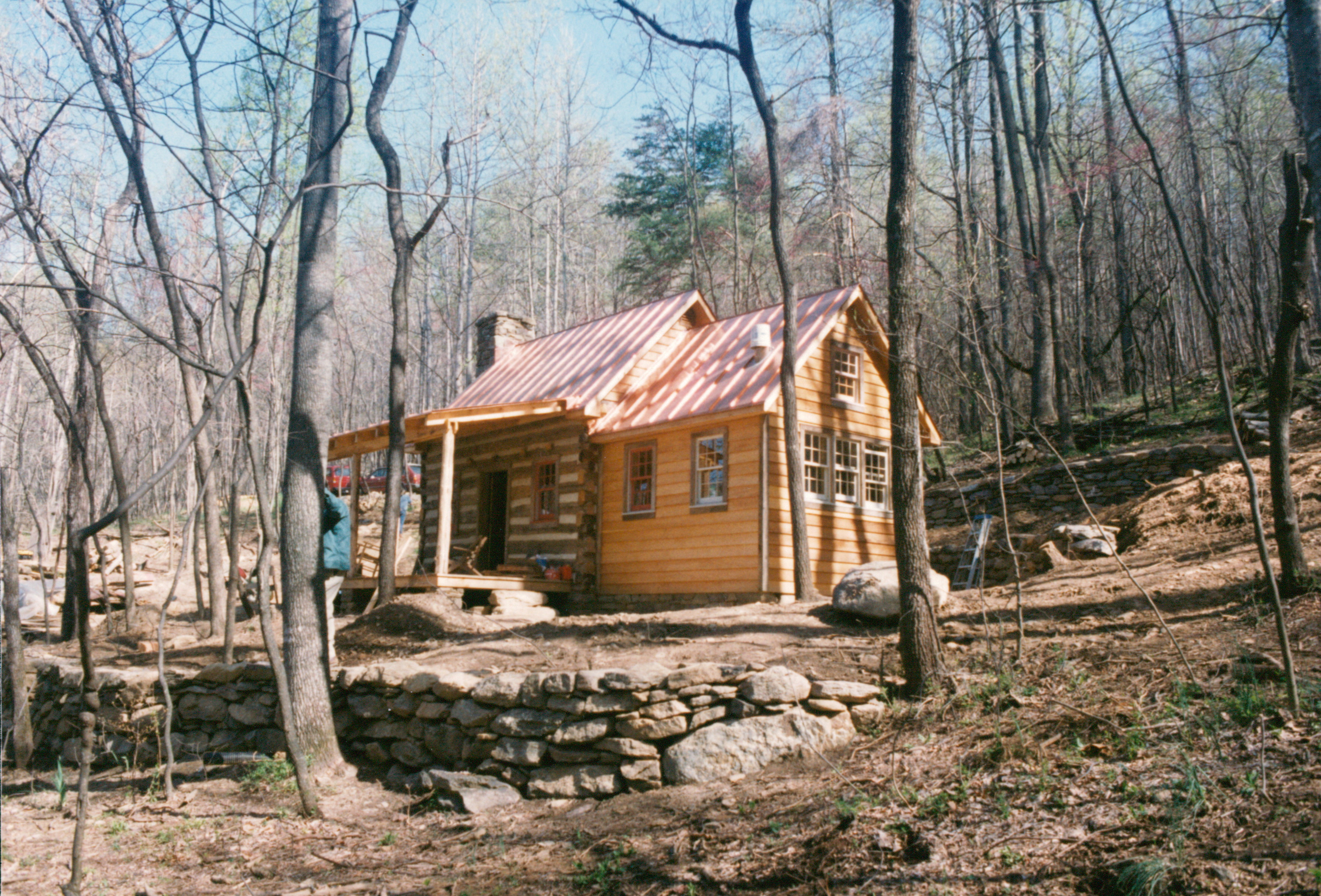 amazing building a rustic cabin #1: Part Four ofu2026 Building a rustic cabin