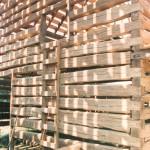 A double pen log barn… part 17
