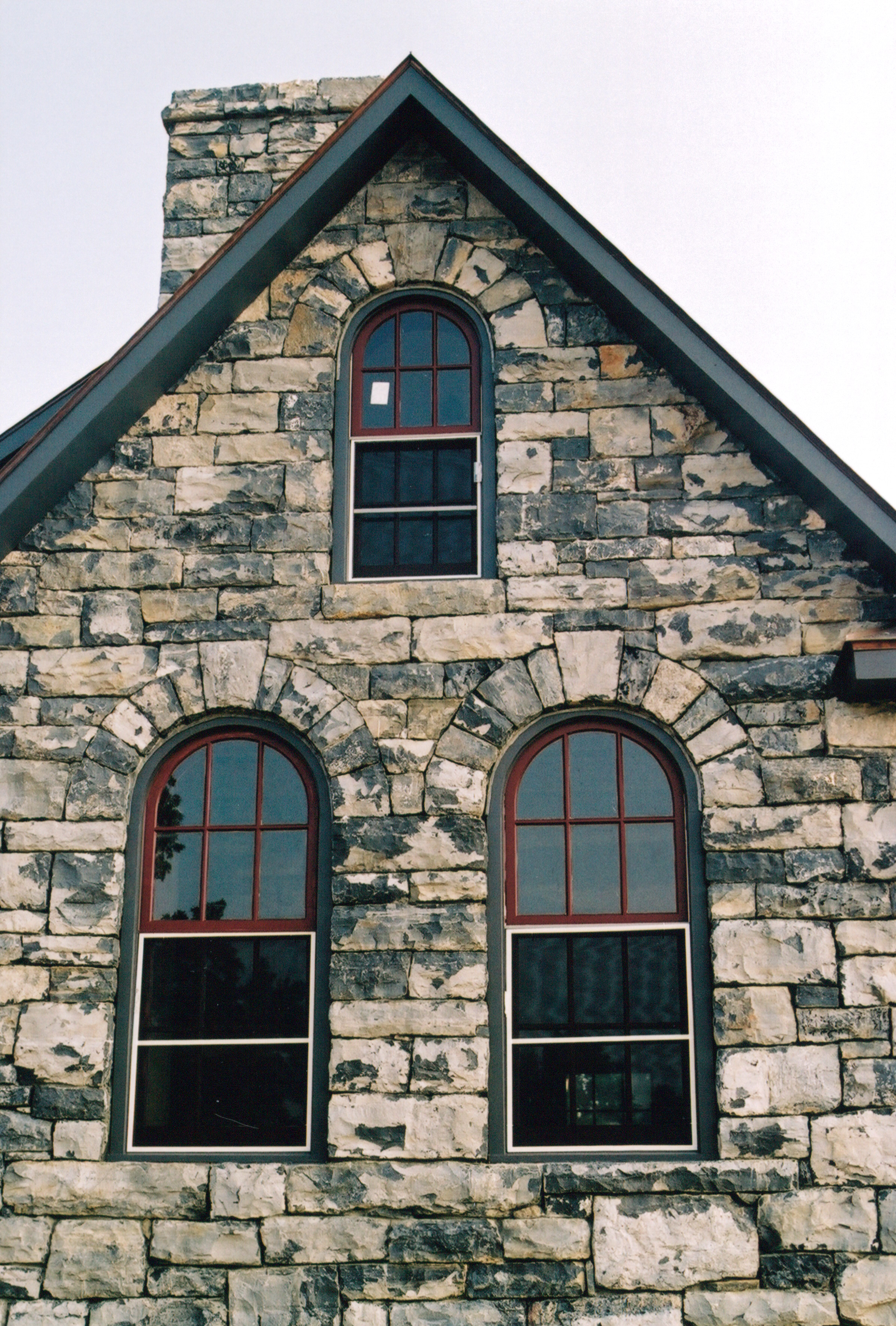 Stone Arched Windows Part 2 Handmade Houses With