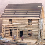 How to build a log home… part 8