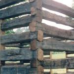 A hewn cabin… part 2