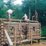 The best way to learn how to build a log cabin