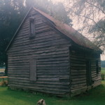 Three outbuildings