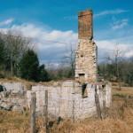 The backside of chimneys