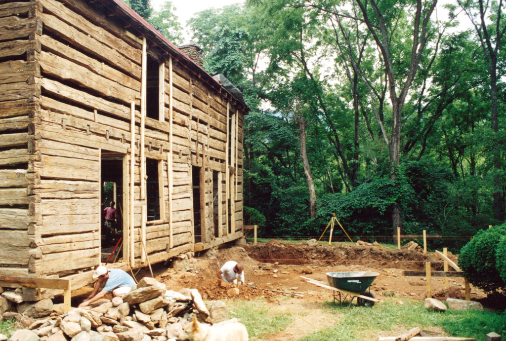 Log cabin restoration part 11 handmade houses with for Log cabin restoration
