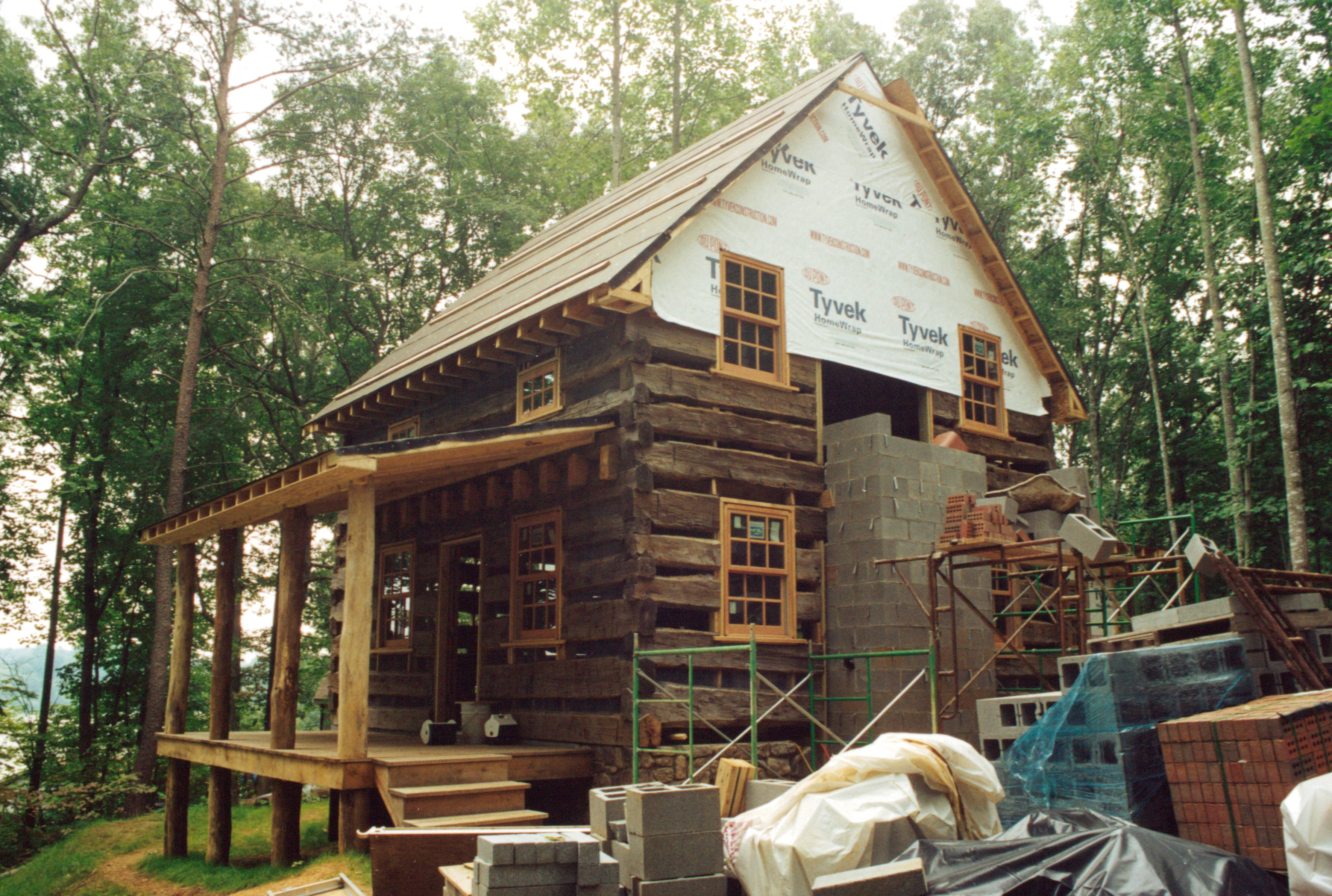 Do You Remember Me Telling You Recently The Story Of Me Helping A Man Out  Who Wanted A Nice Log Cabin But Needed To Build It Himself Due To U201clean  Wallet ...