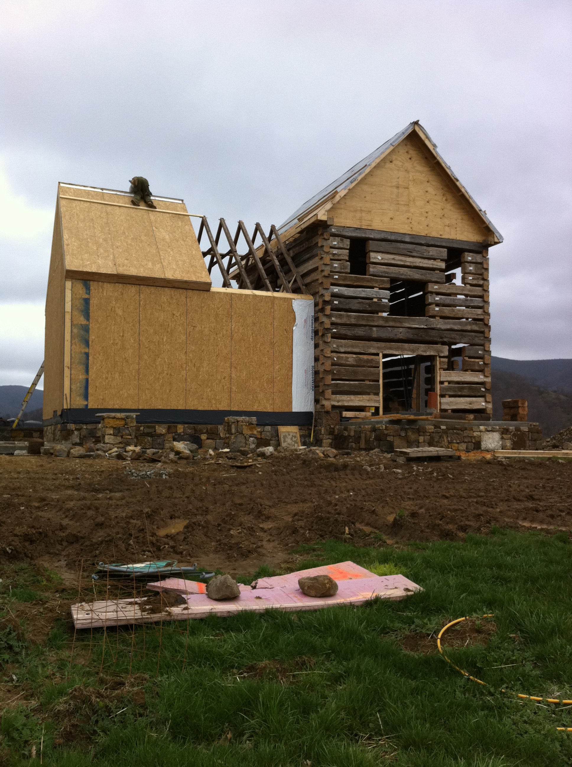 Which house is better - from timber or frame? Which house is warmer. Construction technology 29