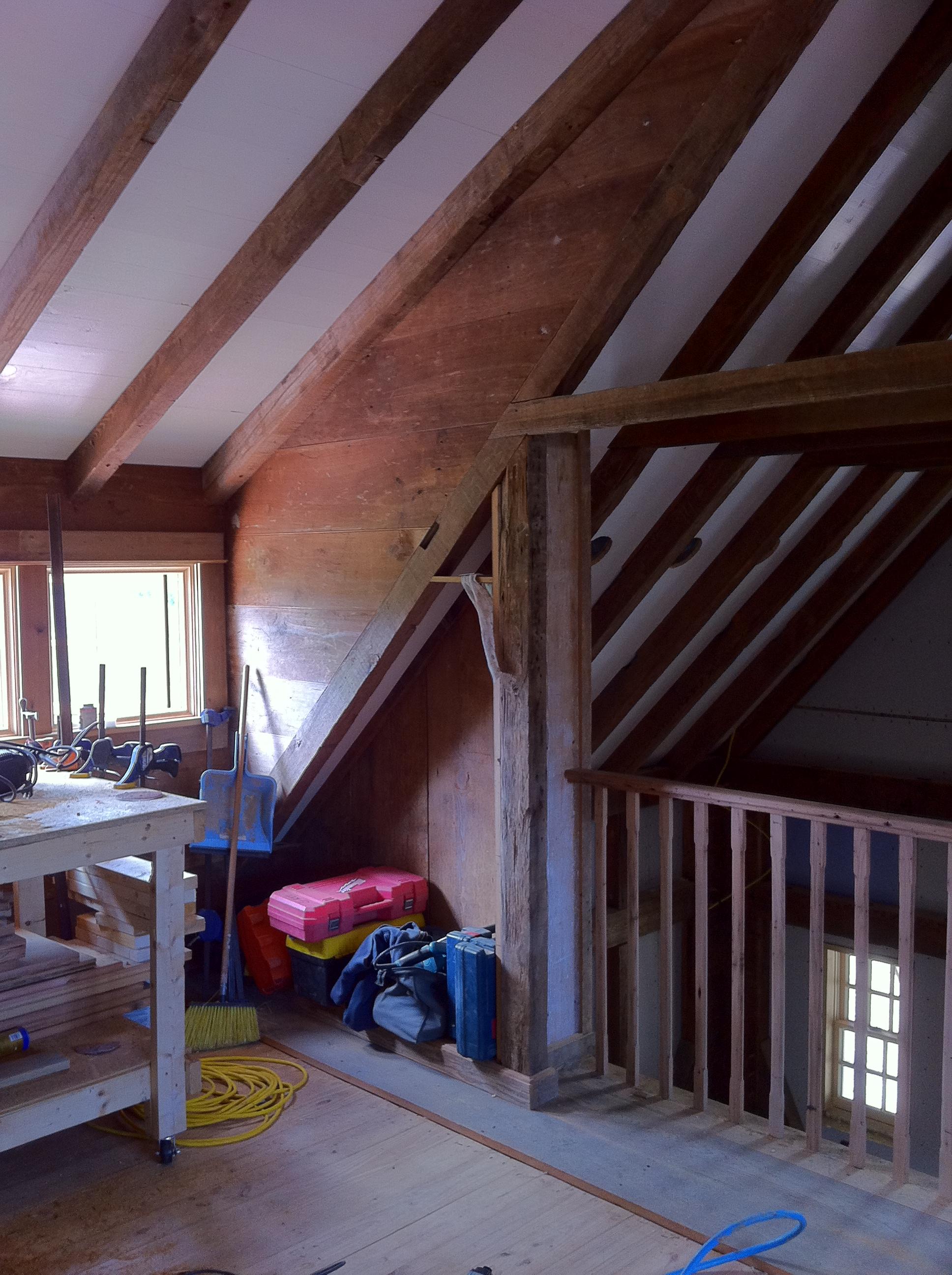 Barn Door In The Loft Handmade Houses With Noah Bradley