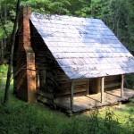 Heresy! Brick chimney on a log cabin?