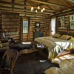 No partitions in a log cabin!