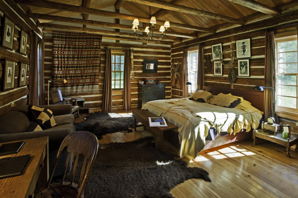 A Log Cabin Is At Its Best When It Used As One Single Room With Four Walls Of The Many Flaws In Cabins Using Kits