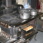 The charm of a wood cookstove