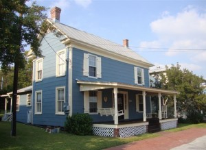 Kay Bloodgood house, ca. 1907