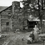 The Walker's Sisters homeplace in Tennessee