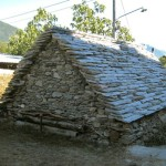 A stone roof