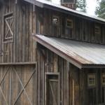"Rough sawn siding and ""barn tin"""