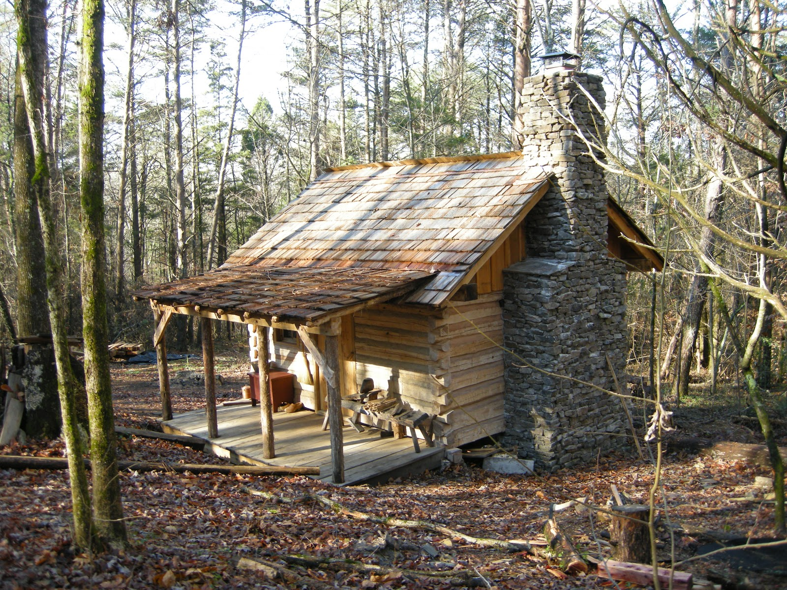 It 39 s time to turn your dream cabin into reality handmade for How to build a stone cabin