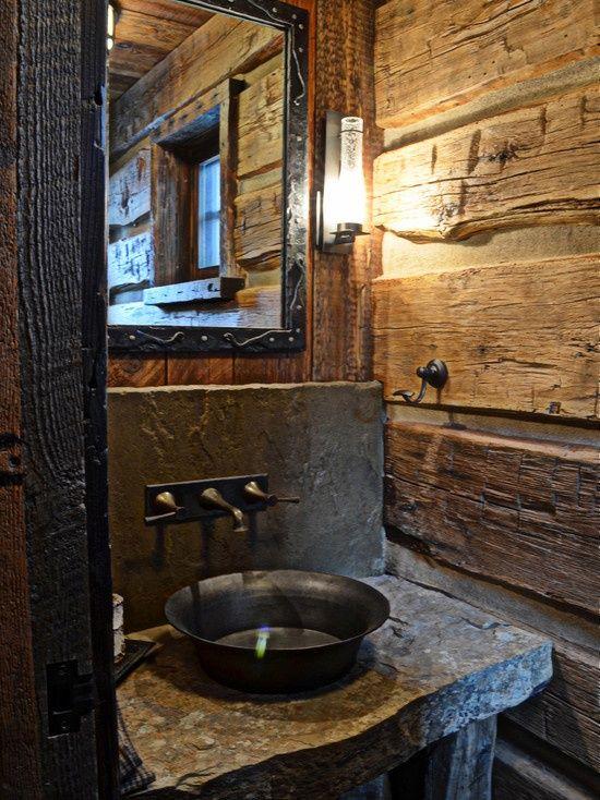 A single log wall Handmade Houses with Noah Bradley : 12341234 from handmadehouses.com size 550 x 734 jpeg 97kB
