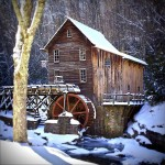 Grist Mill timber frame