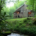 The attraction of a log home