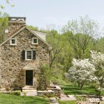 The timeless beauty of a stone home