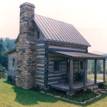 The perfect small log cabin