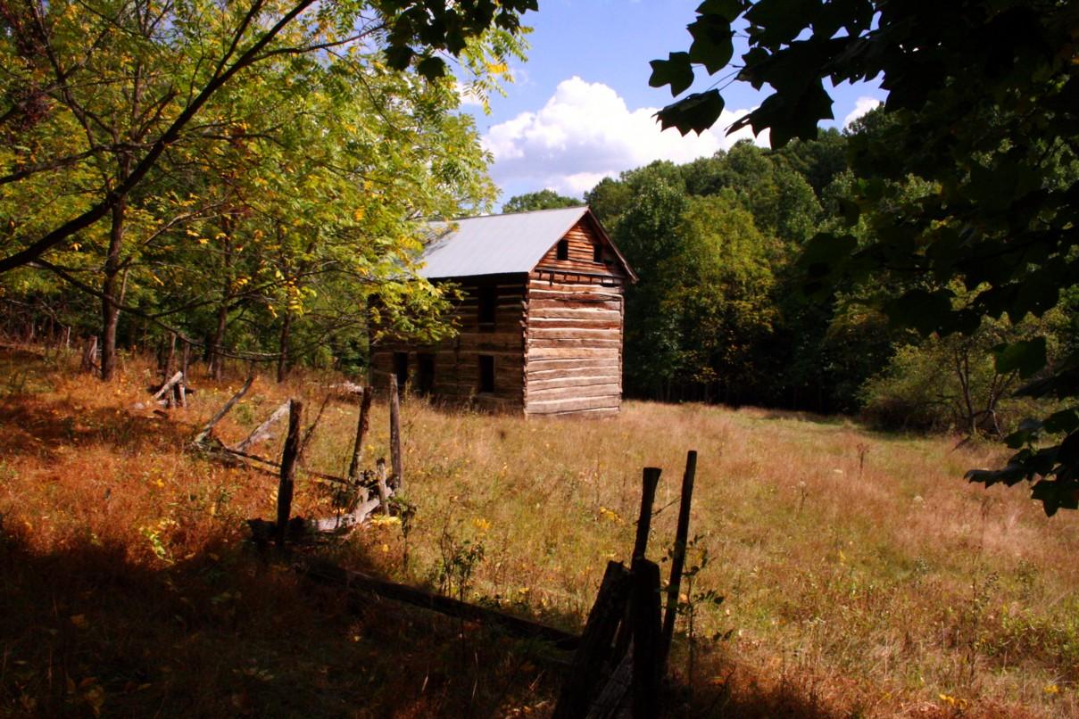 fall-field-old-farm-house